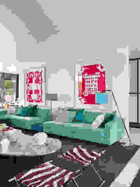 Modern Oturma Odası SA&V - SAARANHA&VASCONCELOS Modern