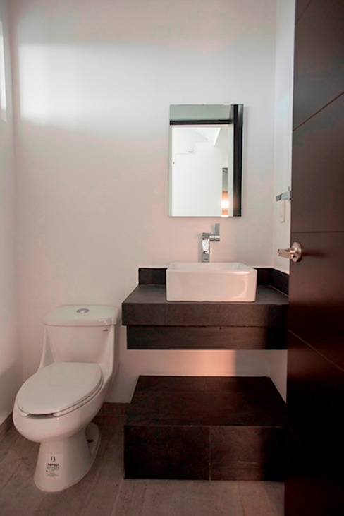 Baño Baños minimalistas de JF ARQUITECTOS Minimalista
