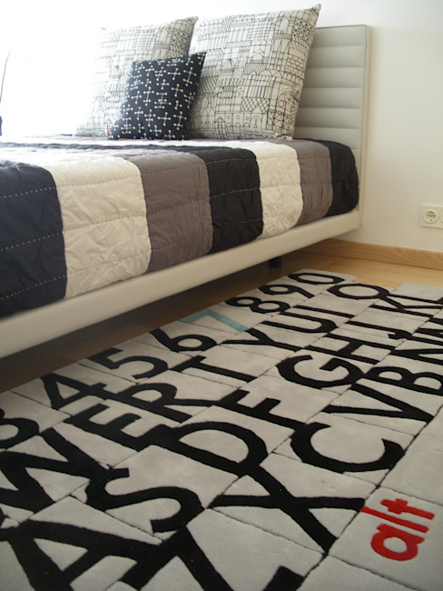 Apartamento de férias EN Quartos de criança modernos por Space Invaders _ Arquitectura e Design Moderno