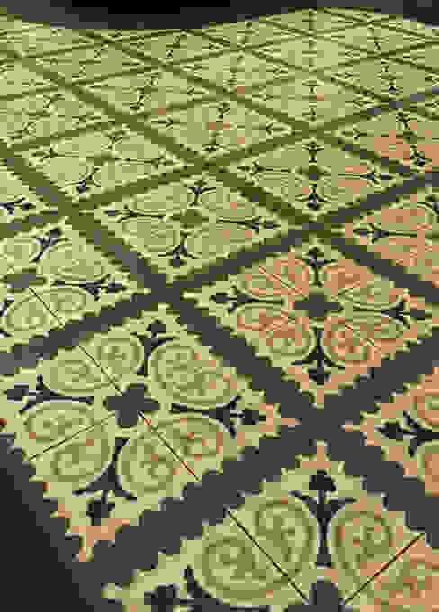 Paredes y suelos de estilo minimalista de Karosiman Desenli Yer Karoları Minimalista Piedra