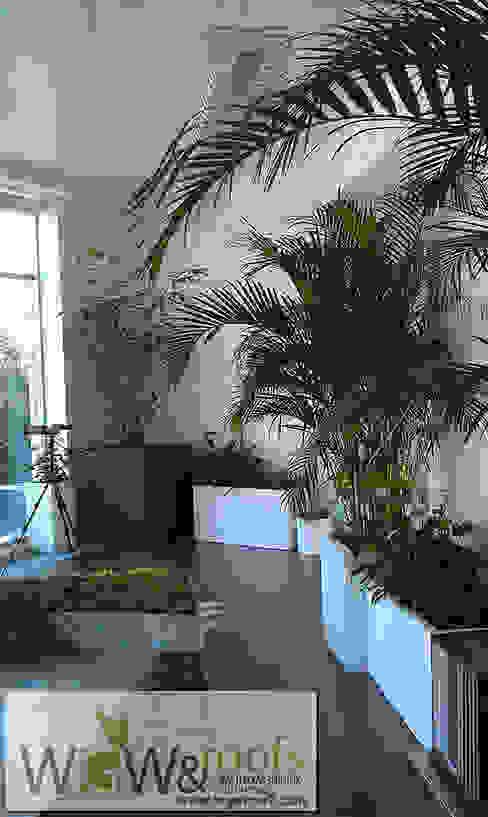 Jardines de invierno de estilo moderno de WGWRoofs - Мастерская зеленых стен и крыш Moderno