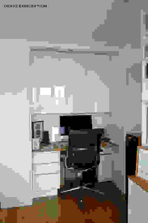 Félix Faure - Paris XV - 130 m2 Bureau moderne par Desjoconception Moderne