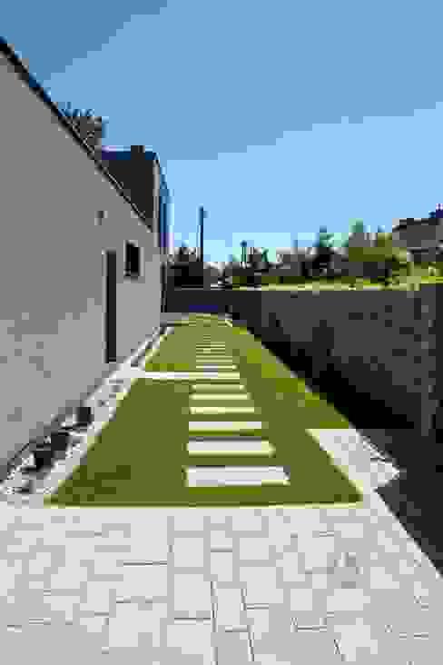 Nowoczesne nawierzchnie - taras i ogród Modern Line Nowoczesny ogród
