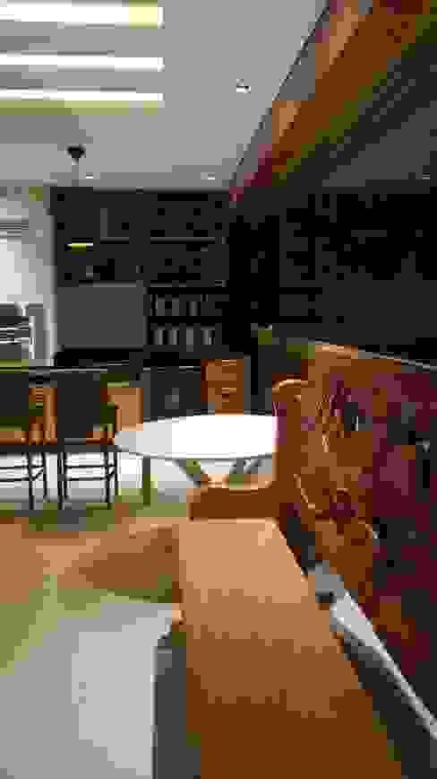 Detalhes varanda. Varandas, marquises e terraços modernos por Lucio Nocito Arquitetura e Design de Interiores Moderno