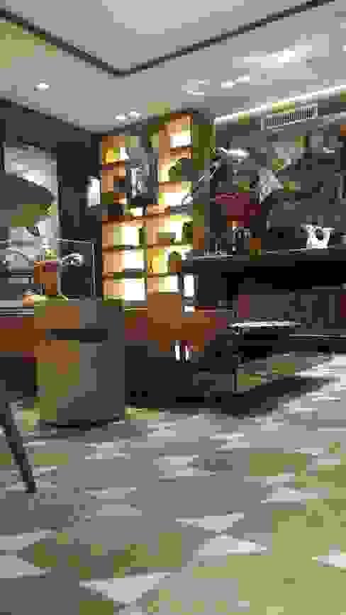 Salas de estilo  por Lucio Nocito Arquitetura e Design de Interiores