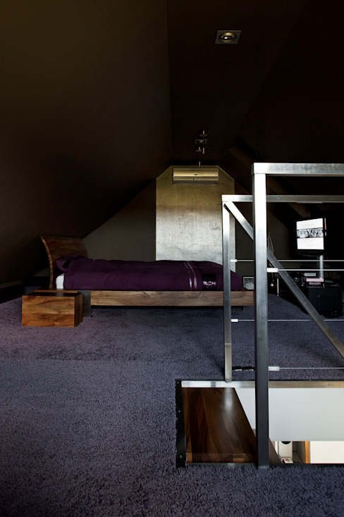 Modern Bedroom by Jeżewska & Zakrawacz Modern