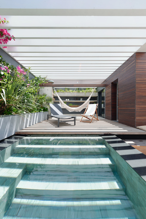 Ricardo Moreno Arquitectos Piscinas de estilo moderno
