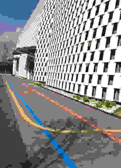 Paredes e pisos modernos por Déco Moderno Derivados de madeira Transparente