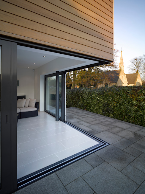 Terras door ID Architecture, Modern