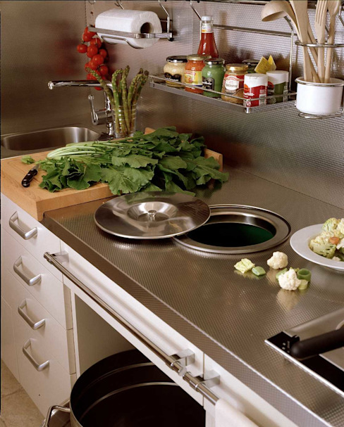 DEULONDER arquitectura domestica 現代廚房設計點子、靈感&圖片 Grey