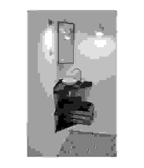 BS6 Baños de estilo escandinavo de SUIN design studio Escandinavo