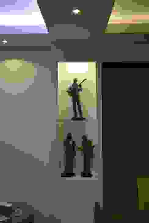 İzmir Mimkent'te Yeni Bir Yaşam Projesi Modern Oturma Odası ACS Mimarlık Modern
