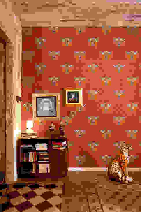 Papel pintado Pio Red de Bloompapers Moderno Papel