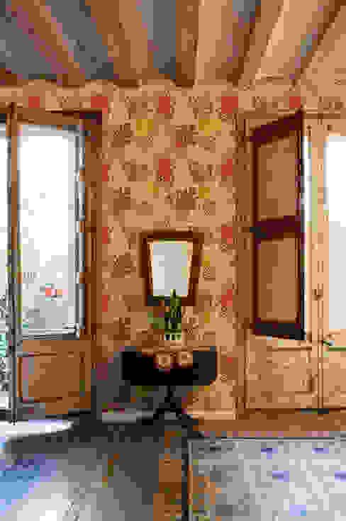Papel pintado Garzas Oro Bloompapers Paredes y pisosPapeles pintados Papel Beige