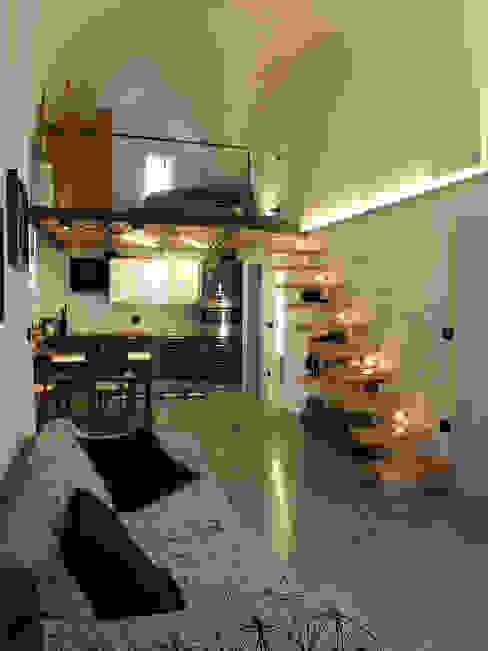 Living room by Ossigeno Architettura, Mediterranean