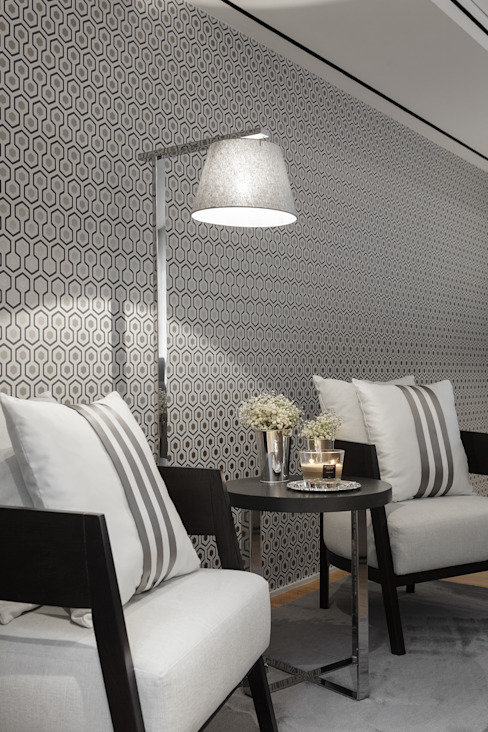 Koridor & Tangga Modern Oleh CASA MARQUES INTERIORES Modern Kayu Wood effect