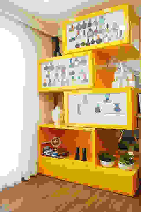 Salas de estilo  por Serra Vaz Arquitetura e Design de Interiores, Moderno