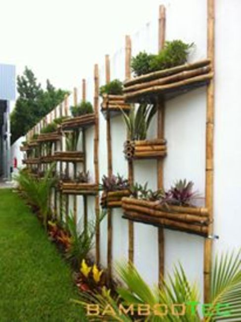 Modern style gardens by Bambootec Modern