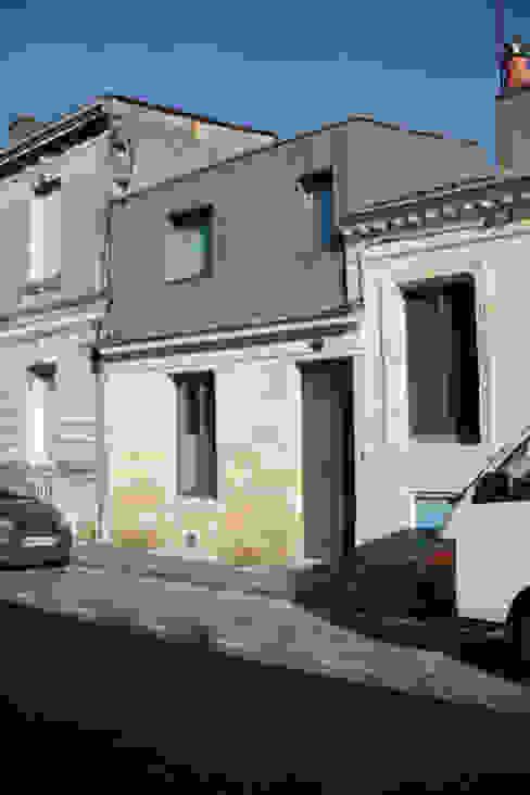 élévation sur rue après travaux par Cécilia Cretté architecte Moderne