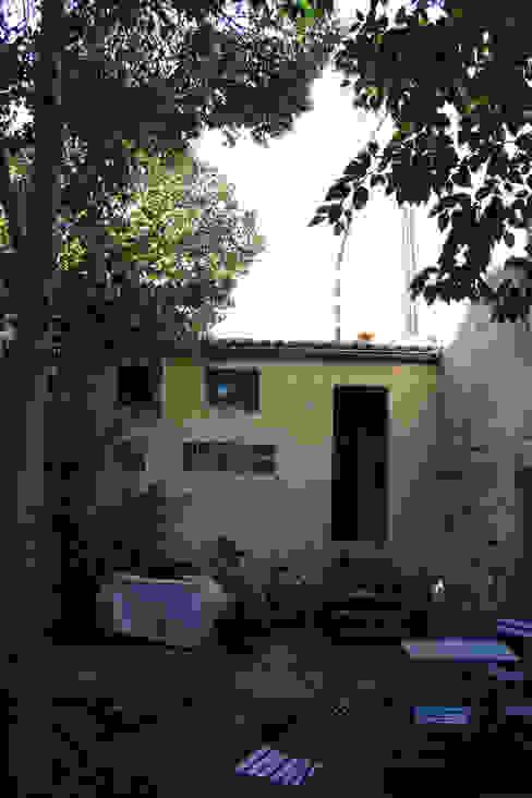 élévation sur jardin avant travaux par Cécilia Cretté architecte Moderne