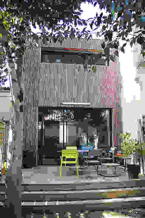 élévation sur jardin après travaux par Cécilia Cretté architecte Moderne