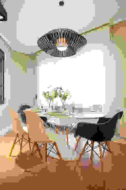 Proyecto de decoración de vivienda en Bilbao, Sube Susaeta Interiorismo - Sube Contract: Comedores de estilo  de Sube Susaeta Interiorismo