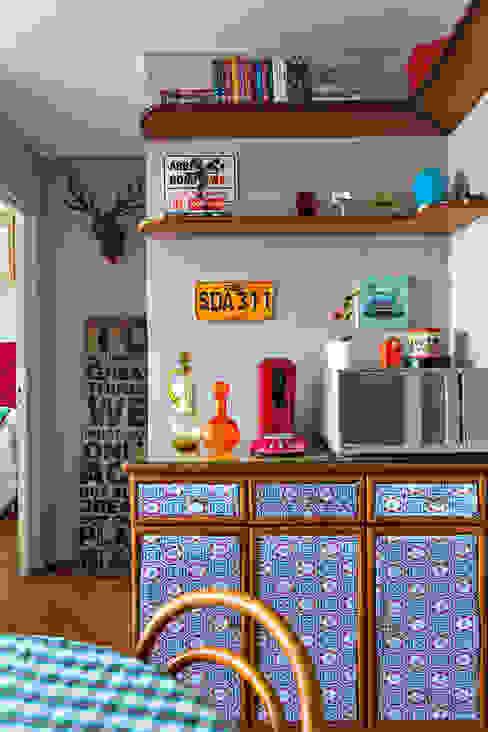 Living Salas de jantar modernas por Ingrid Hirsch Moderno