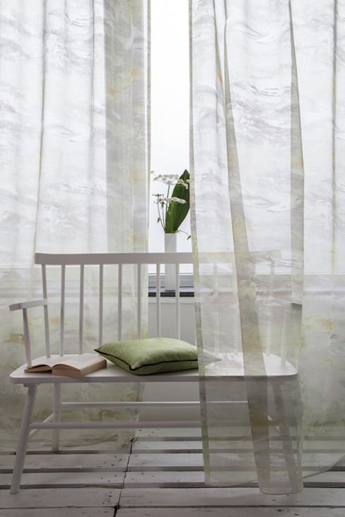 Indes Fuggerhaus Textil GmbH Windows & doors Curtains & drapes Textile Green