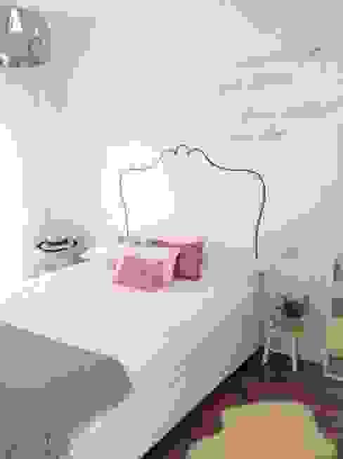 Después. El dormitorio Dormitorios de estilo escandinavo de Frihlou Escandinavo
