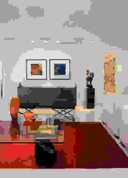 Apartamento Lourdes Salas de estar modernas por Viviane Lima Arquitetura Moderno