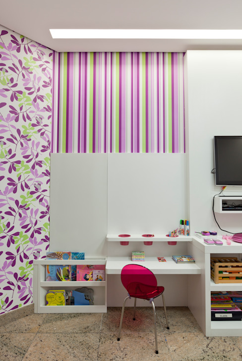 Cuartos infantiles de estilo  por Interiores Iara Santos