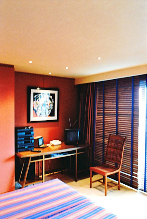 Appartement Paris 75116 : Bureau moderne par ARC et SENS Moderne