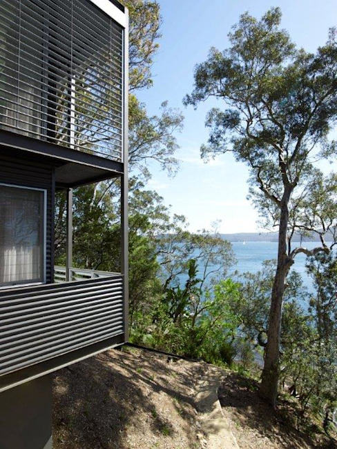 Avalon House Modern balcony, veranda & terrace by Greg Natale Design Modern