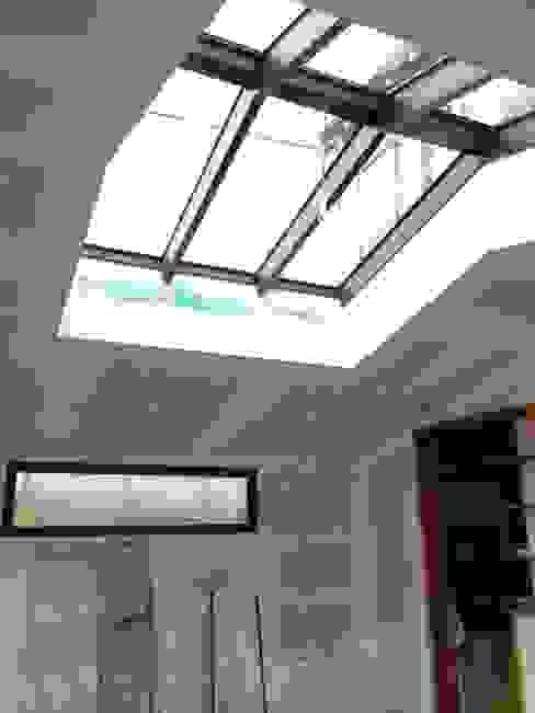 EXTENSION OSSATURE BOIS LARMOR PLAGE BCM Fenêtres & Portes modernes