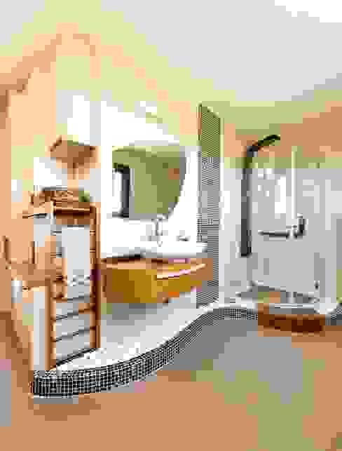 Bathroom / Girne / Cyprus Baños modernos de Şölen Üstüner İç mimarlık Moderno