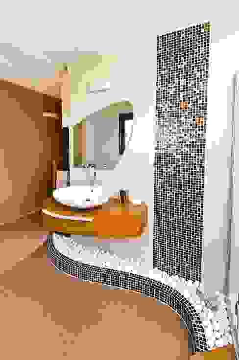 Bathroom / Girne / Cyprus Baños de estilo moderno de Şölen Üstüner İç mimarlık Moderno