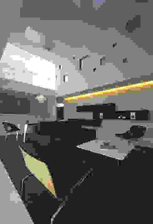 TT モダンデザインの リビング の 株式会社廣田悟建築設計事務所 モダン