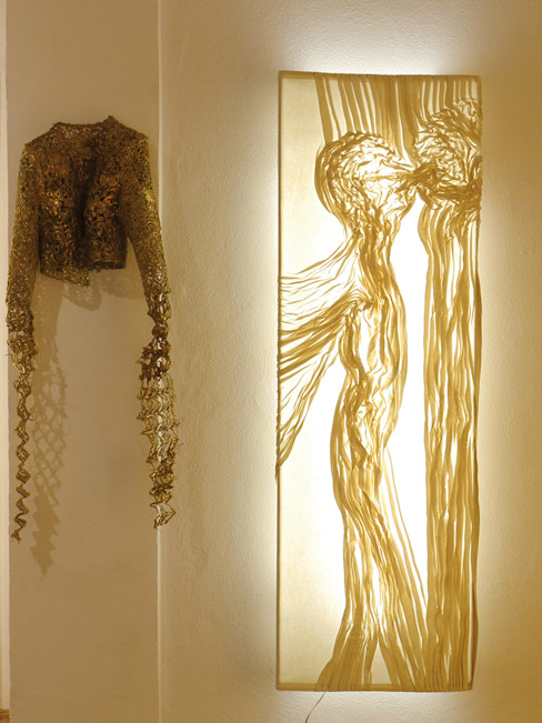 MAWIF Textil-Werk-Statt의 에클레틱 , 에클레틱 (Eclectic) 직물 황색 / 골드