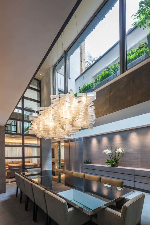 Mayfair House Modern kitchen by Squire and Partners Modern