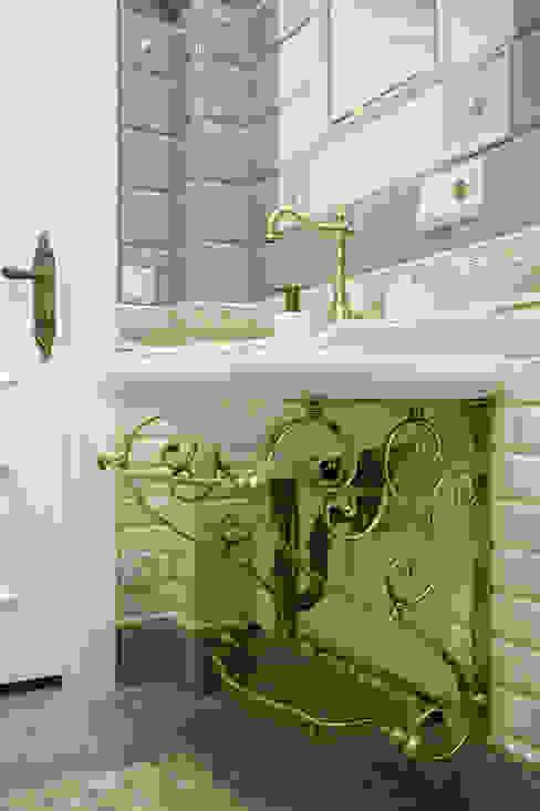 квартира на ВО, Галерный проезд д.5. Valeria Ganina Ванная в классическом стиле