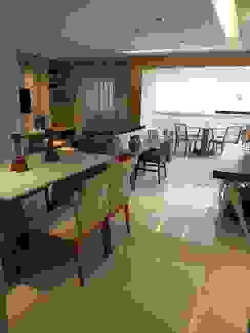 Sala de Jantar. Salas de jantar modernas por Lucio Nocito Arquitetura e Design de Interiores Moderno