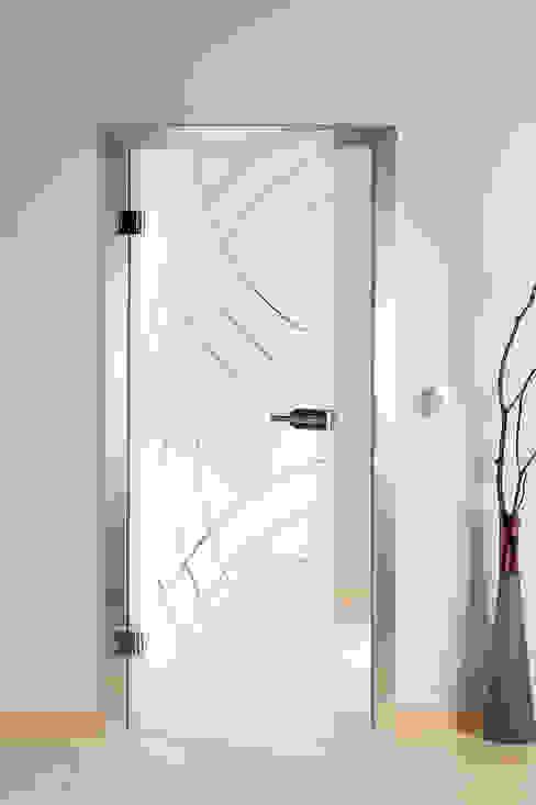 غرفة المعيشة تنفيذ schoener-bauen24.de, حداثي