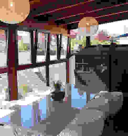 Vivienda en Getafe, Madrid Balcones y terrazas de estilo ecléctico de FrAncisco SilvÁn - Arquitectura de Interior Ecléctico