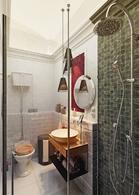 Eclectic style bathrooms by Vashantsev Nik Eclectic