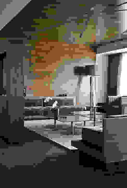 Proyectos studio Roca STUDIOROCA Salones modernos
