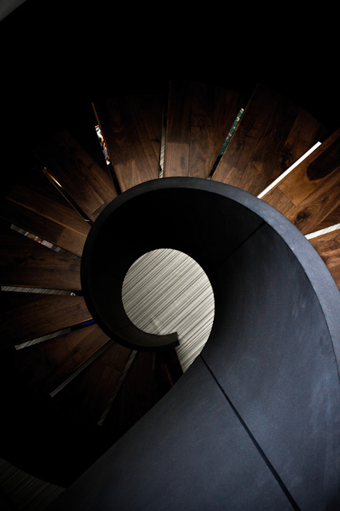 Proyectos studio Roca Pasillos, vestíbulos y escaleras modernos de STUDIOROCA Moderno