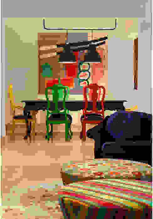 Comedores de estilo rústico de MMMundim Arquitetura e Interiores Rústico