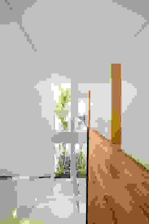 Márcia Carvalhaes Arquitetura LTDA. Modern Corridor, Hallway and Staircase