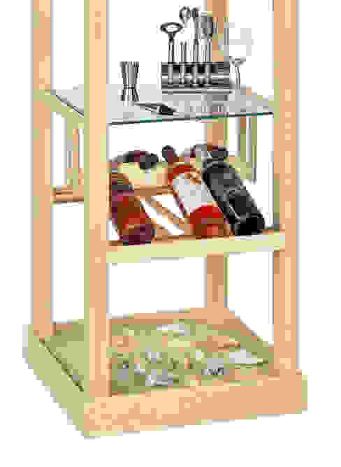 de Winebed by Frank Lange Moderno Madera Acabado en madera