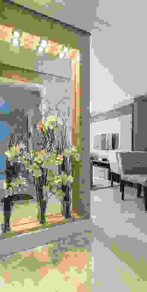 Pasillos, vestíbulos y escaleras modernos de Silvana Borzi Design Moderno